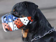 Leather dog muzzles for Rottweiler dog breed