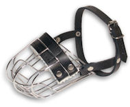 Extra small dog muzzle - wire dog muzzle for small dogs