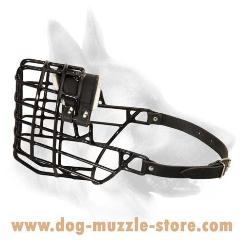 Wire Cage Dog Muzzle With Perfect Air Circulation