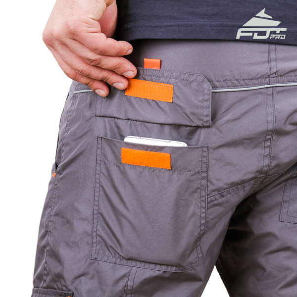 Comfy Design FDT Pro Pants with Strong Back Pockets for Dog Training