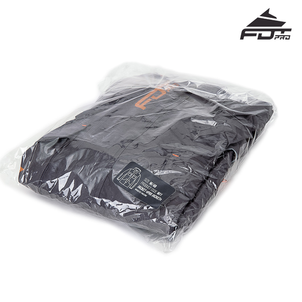FDT Pro Dog Tracking Jacket with Top Rate Velcro Patches