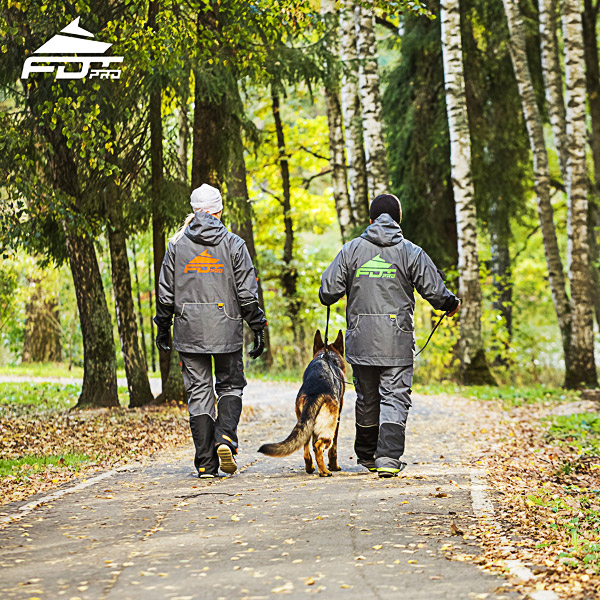 Professional Dog Training Jacket of High Quality for Any Weather Conditions