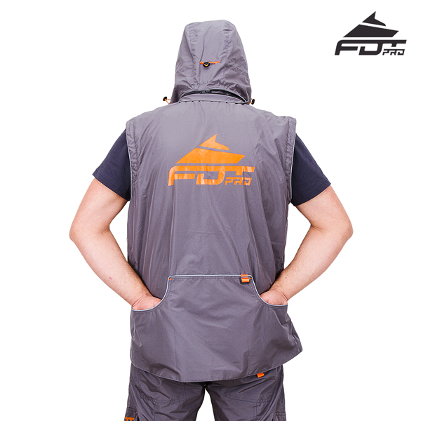 Reliable Dog Trainer Suit of Grey Color from FDT Wear