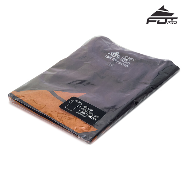 Filled Professional Design T-shirt of Dark Grey Color