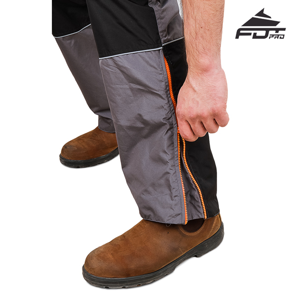 FDT Professional Design Pants with Top Notch Zippers for Dog Training