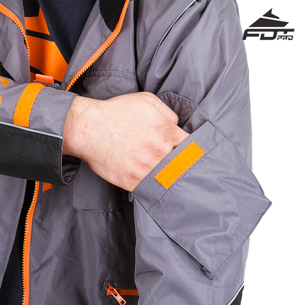 FDT Professional Design Dog Tracking Jacket with Durable Sleeve Pocket