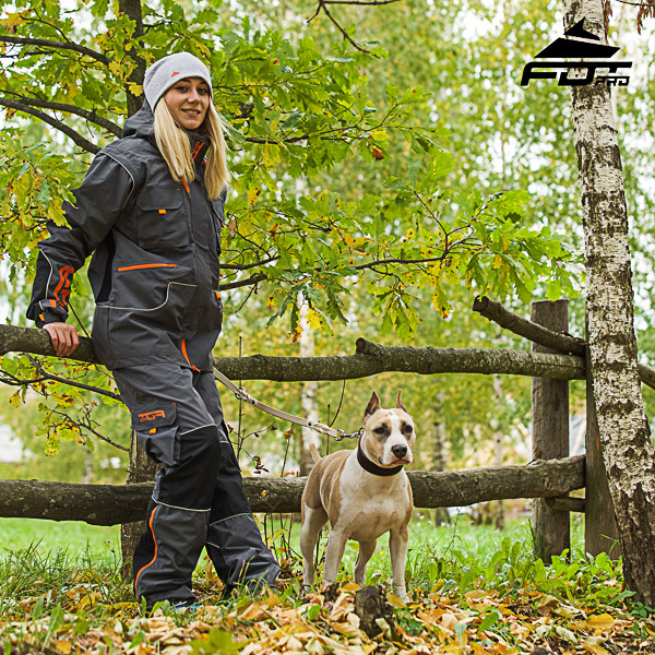 Men / Women Design Pants with Comfortable Side Pockets for Active Dog Training