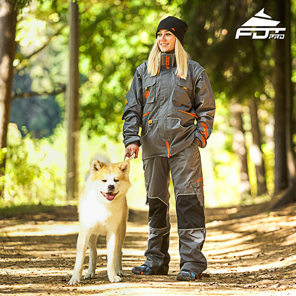 Men and Women Design Dog Training Jacket of Finest Quality Materials