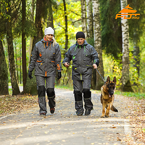 Any Weather Use Reliable Dog Tracking Suit for Men and Women